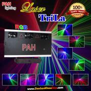 Đèn Laser TriLa 3 cửa 3 màu quét màn tia
