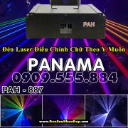 Đèn laser 7 màu Panama trang trí phòng karaoke