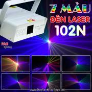 Đèn Laser 7 màu cho phòng bay thêm ảo giác và sôi động