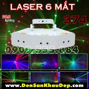 Đèn Laser Phòng Bay 6 Mắt