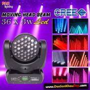 Đèn quay moving head Led khả năng quét beam với 36 bóng siêu sáng