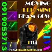 Đèn moving head LED Beam 60W Xatana sử dụng trang trí phòng Karaoke VIP