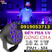 Đèn Pha UV Trang Trí Sân Khấu Gong Cha