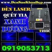 Đèn Laser quét tia Blue giá rẻ cho phòng hát Karaoke