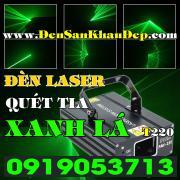 Đèn Laser xanh lá quét tia giá rẻ cho phòng Karaoke, gia đình, VIP
