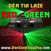 Đèn tia Laze 2 màu Red Green trang trí Karaoke