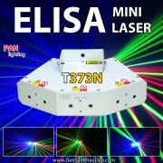 Đèn Laser phòng bay Elisa giá rẻ 6 mắt 3 màu thế hệ mới trang trí phòng Karaoke