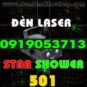 Đèn Laser Star Shower 501RG trang trí phòng hát Karaoke