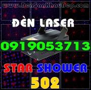 Đèn Laser Star Shower 502RB trang trí phòng hát Karaoke