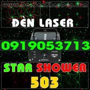 Đèn Laser Star Shower 503RG trang trí phòng hát Karaoke