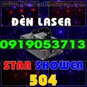 Đèn Laser Star Shower 504RB trang trí phòng hát Karaoke