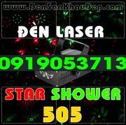 Đèn Laser Star Shower 505RG trang trí phòng hát Karaoke