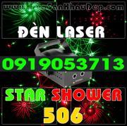 Đèn Laser Star Shower 506RG trang trí phòng hát Karaoke