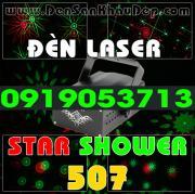 Đèn Laser Star Shower 507RG trang trí phòng hát Karaoke