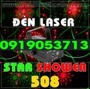 Đèn Laser Star Shower 508RG trang trí phòng hát Karaoke