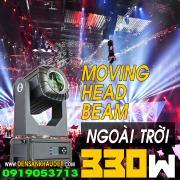 Moving Head Beam 330W sử dụng ngoài trời có khả năng chịu được mưa và nước
