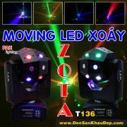 Đèn LED Xoáy Zota nhiều màu lắp phòng bay, phòng hát Karaoke VIP tạo không giao sôi động