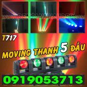 Đèn Moving thanh 5 đầu LED siêu sáng RGBW