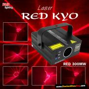 Đèn laser Kyo sắc đỏ mạnh mẻ